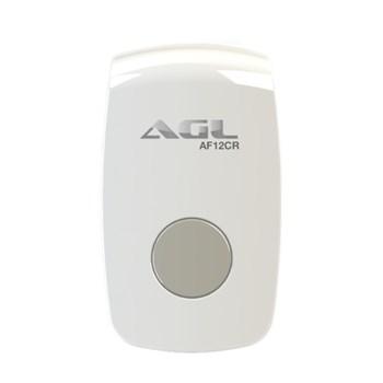 Acionador de Fechaduras 12V Por Controle Remoto 433Mhz E Botão Agl F12 Cr