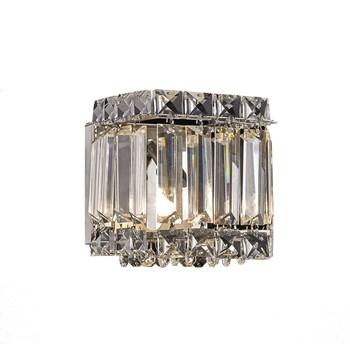 Arandela Cristal K9 Transparente 12x13 G9 1006-T