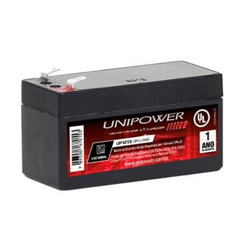 Bateria Estacionária 12V 1,3ah Unipower Selada Rastreador UP1213