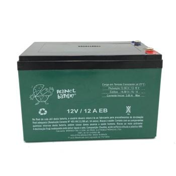 Bateria Selada 12V 12A Ciclo Profundo Recarregável Planet Battery