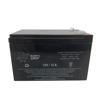 Bateria Selada 12V 12A Recarregável Planet Battery