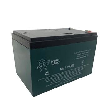 Bateria Selada 12V 15A EB Veículos Elétricos Ciclo Profundo Recarregável Planet Battery