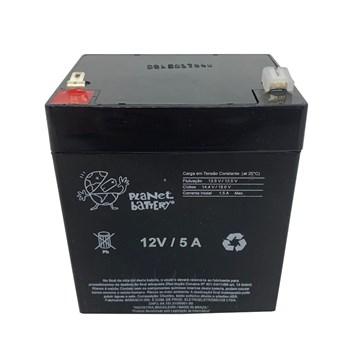 Bateria Selada 12V 5A Recarregável Planet Battery