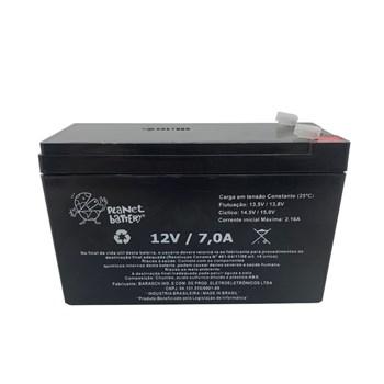 Bateria Selada 12V 7A Recarregável Planet Battery