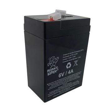 Bateria Selada 6V 4A Recaregavel Planet Battery
