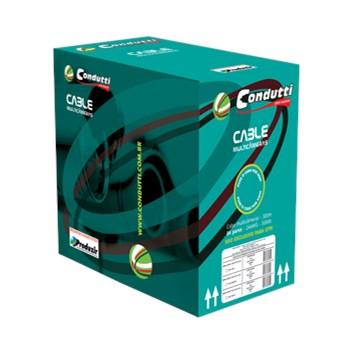 Cabo de Rede p/ CFTV Condutti Multicameras 4 pares Cx 300m