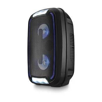 Caixa de Som Bluetooh Mini Torre Party TWS Bluetooth 200W RMS Preto Multilaser SP336