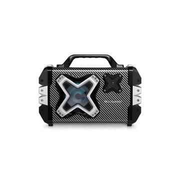 Caixa de Som Bluetooth Portátil 60W Usb, Aux, Cartao, Fm, Mic Multilaser SP323