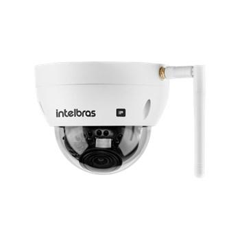 Câmera de Segurança IP Wif-Fi Intelbras VIP 3430 D W 4MP Lente 2,8mm Infravermelho 30m IP67 e IK10
