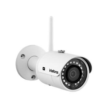 Câmera de Segurança IP Wif-Fi Intelbras VIP 3430 W 4MP Lente 3,6mm Infravermelho 30m IP67