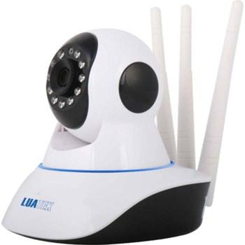 Câmera IP Wi-Fi Infravermelho Motorizada 360° HD 720p com Áudio Luatek LKW-1310VN
