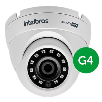 Câmera Segurança Intelbras VHD 3220 D G4 Full HD IR 30m