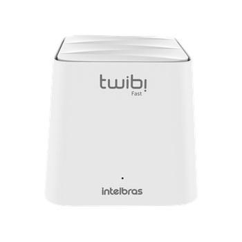 Conjunto Roteador Intelbras Twibi Wifi Mesh Fast 2 unidades 200m2