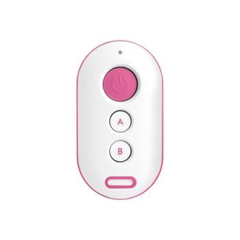 Controle Remoto Intelbras Xac 4000 Alarme E Portão Smart Control Rosa