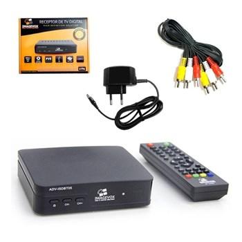 Conversor Receptor de TV Digital Full HD Entrada USB Imagevox
