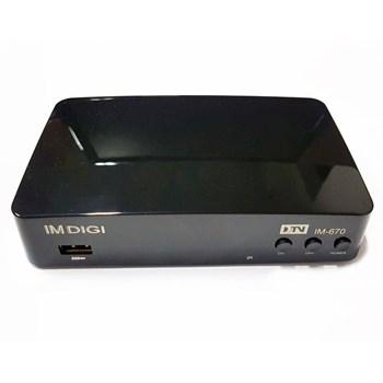 Conversor Receptor de Tv Digital Hdmi Hdtv Full Hd Usb Imdigi Im-670