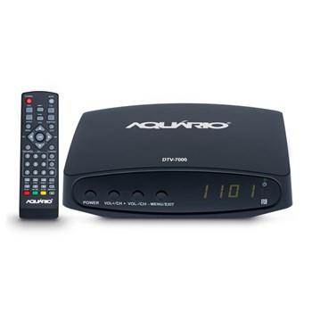 Conversor Receptor E Gravador de Tv Digital Full Hd Aquario Dtv-7000S