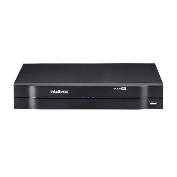 Dvr Intelbras Mhdx 1108 Multi Hd 8 Canais 1080P Lite + 2 Canais 6Mp Ip