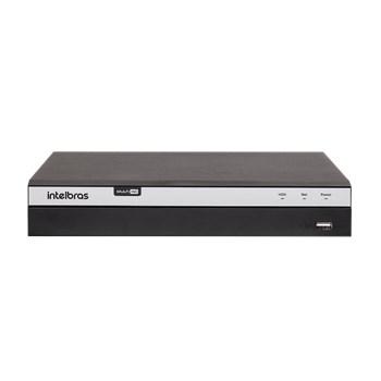 Dvr Intelbras MHDX 5108 4K Multi Hd 8 Canais Ultra HD 1080P + 8 Canais 6Mp Ip