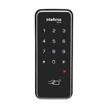 Fechadura Digital Intelbras Fr 201 Touch Screen com Senha Ou Cartao Chaveiro