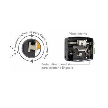 Fechadura Elétrica 12V Reversível Agl Lr100