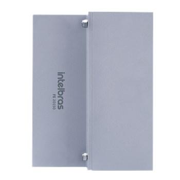 Fechadura Eletroímã Intelbras Fe20150 Kit Universal 150 Kgf com Sensor Prata