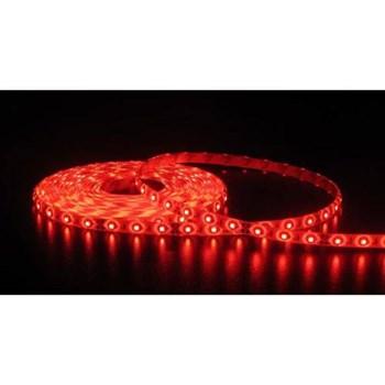 Fita LED Adesiva Vermelho Bivolt Rolo com 5m + Fonte 12V