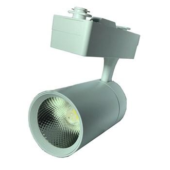 Kit 3 Spot LED para Trilho 20W Branco Quente Bivolt Branco Initial