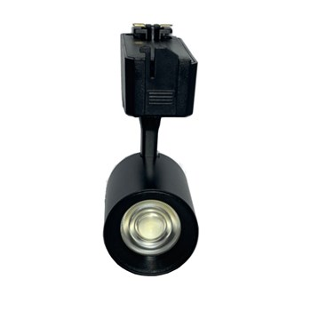 Kit 8 Spot LED para Trilho 7W Branco Frio Bivolt Preto Initial