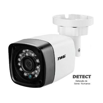Kit CFTV 2 Câmeras HD 720P Infravermelho 20 metros DVR Intelbras MHDX 1104 + Acessórios