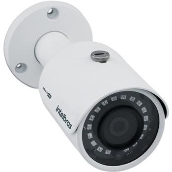 Kit CFTV Intelbras 4 Câmeras FULL HD 1080P VHD 3230 B Infravermelho 30 metros DVR MHDX 3104 HD 1TB de Armazenamento + Acessórios