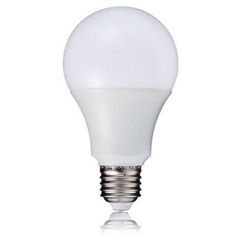 Lâmpada de Led Bulbo 9W Branco Quente Bivolt Galaxy