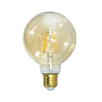 Lâmpada de Led Filamento G125 Bulbo 4W Aaatop