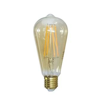 Lâmpada Filamento LED Retrô Vintage 4W ST58 Âmbar 2300k Bivolt