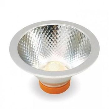 Lâmpada LED AR70 7W COB Bivolt Branco Quente