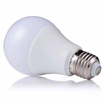 Lâmpada LED Bulbo 5w E27 Bivolt Branco Quente