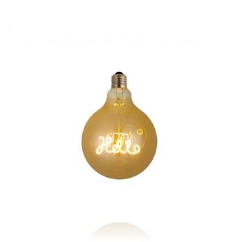 Lâmpada LED Bulbo Filamento HELLO 3W Bivolt 2200K Base E27