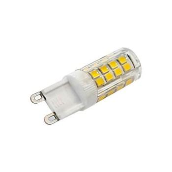 Lâmpada LED Halopin 5W G9 Branco Quente 110V para Lustres Arandelas Pendentes