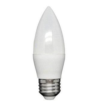 Lâmpada LED Vela Leitosa 4W Bivolt E14 Branco Quente Inmetro
