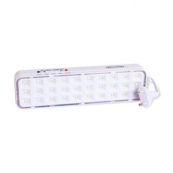 Luminária de Emergência 30 LEDs Branco Frio