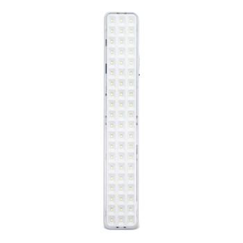 Luminária de Emergência 60 LEDs Branco Frio