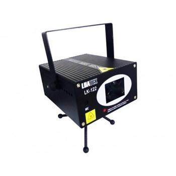 Projetor Holográfico Raios Laser Verde E Vermelho Bivolt com Sensor de Som Luatek Lk 122