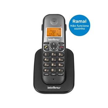 Ramal sem Fio Intelbras TS 5121 para Base TS 5120 com Identificador de Chamadas