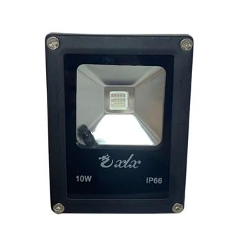 Refletor de Led 10W Bivolt Rgb com Controle Wd