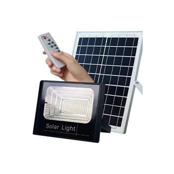 Refletor de Led Solar 100W Branco Frio Bivolt com Placa Solar