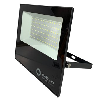 Refletor Holofote LED SMD 100W Branco Frio Prova D'água IP65