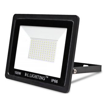Refletor Holofote LED Smd 100W Branco Quente Prova D'água Ip66