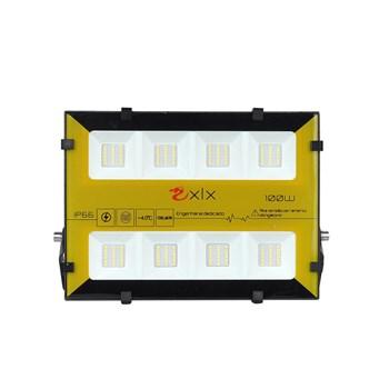 Refletor Holofote LED SMD 100W Bumblebee Branco Quente Prova D'Água