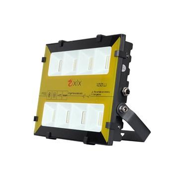 Refletor Holofote LED SMD 100W Bumblebee RGB Colorido c/ Controle Remoto Prova D'Água
