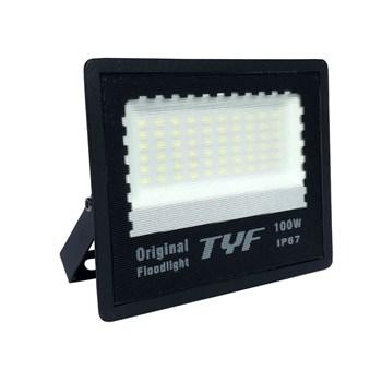Refletor Holofote LED SMD 100w RGB Colorido Blindado IP67 TYF
